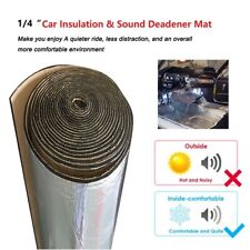 Vehicle Insulation Hood Trunk Firewall Thermal Heat Sound Deadener Mat 24