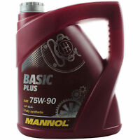 4 Liter Original MANNOL Getriebeöl Basic Plus 75W-90 API GL 4+ Gear Oil