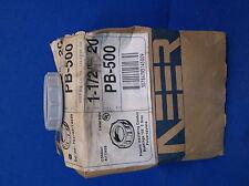 """Neer Plastic Insulating Conduit Bushing Pb-500 1/1/2"""" Lot Of 20"""