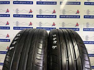 2x 225/50/18 RUNFLAT 95W Bridgestone TOO1 * 6.4MM (9495) FREE FITTING LONDON