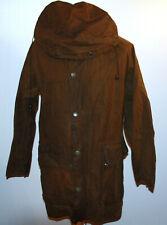 Womens Vintage Belstaff Wax Coat Jacket Hooded Small Unisex Excellent