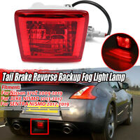 LED Rear Fog Light Brake Backup Reverse Lamp For Nissan 370Z JUKE SENTRA NISMO