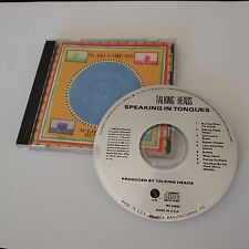 1983 Talking Heads - Speaking in Tongues CD - W2 23883 - Sire Records - Promo