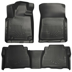 Husky Liners Front & 2nd Seat Floor Lineres for 10-11 Toyota Tundra - 98581