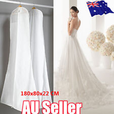 Extra Large Wedding Dress Bridal Gown Garment Breathable Cover Storage Bag  BO
