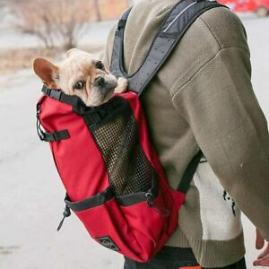 Breathable Pet Dog Cat Carrier Bag Backpack Sports Outdoor Riding Hiking Travel