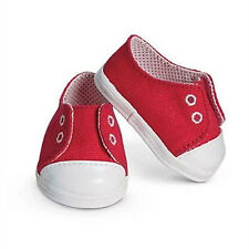 red Doll shoes Wearfor 43cm Baby Born zapf (only sell shoes)
