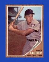 1962 Topps Set Break # 70 Harmon Killebrew NM-MT OR BETTER *GMCARDS*