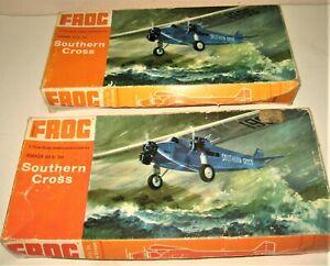 FROG Plastic model kit of SOUTHERN CROSS 1/72nd Fokker VII b Tri Motor Boxed