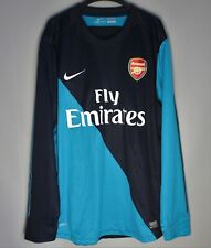 ARSENAL LONDON 2012 2013 PROTOTYPE THIRD SHIRT JERSEY PLAYER ISSUE LONG SLEEVE