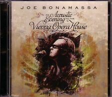 2 CD (NUOVO!) Joe Bonamassa An Acoustic Evening at Vienna Opera (Live Vienna mkmbh