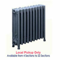 "Cast iron Radiators for Steam and Hot Water Systems 4 Tubes 19""H x 4 1/2""W"
