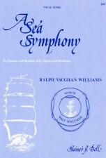 VAUGHAN WILLIAMS A SEA SYMPHONY Vocal Score