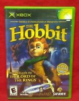 The Hobbit  - Original Microsoft XBOX OG Game - 1 Owner Near Mint Disc!
