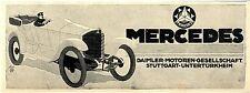 Daimler-Motoren-Gesellschaft Stuttgart Untertürkheim Mercedes Kriegsreklame 1917