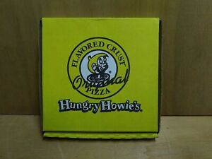 Hungry Howie's Flavored Crust Pizza Memorabilia Fund Raiser Mini BOX w/ free med