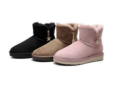 UGG Mini Bailey Bow Star Boot- Premium Australian Sheepskin, Anti-Slip
