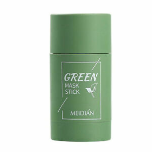 Green Tea Anti Acne Cleaning Solid Mask Face Cream Shrink Pores Skin Care