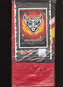 RARE XFL VERTICAL HANGING BANNER FLAG NIP 27X41 WINCRAFT SAN FRANCISCO DEMONS