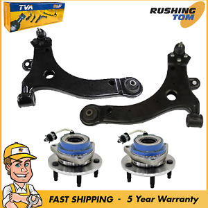 4 Front Lower Control Arm & Wheel Hub Bearing Assembly for Chevrolet Impala