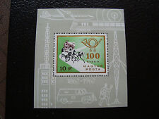 HONGRIE - timbre yvert et tellier bloc n° 66 n** (Z8) stamp hungary