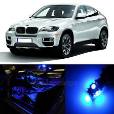 20×Blue Canbus for BMW X6 M E71 Interior LED Light Package Kit 2009-2013