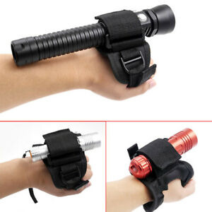 Hand Free Holder Glove for Diving Underwater Torch LED Flashlight Outdoor Wa^BI