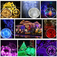 20 LED Battery Plastic Wire Fairy String Lights Christmas Wedding Party Decor