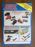 Lledo DG Dads Army 007 Millennium Dome Noddy Vanguards A4 colour leaflets 1984 +
