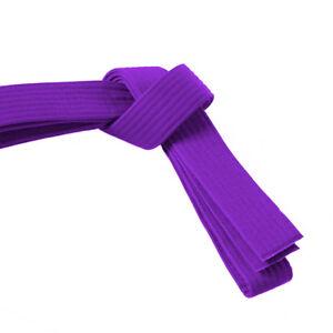 "New Martial Arts Taekwondo Karate Hapkido 1-1/2"" Solid Color Belt Free Ship"