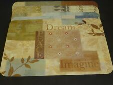 Set of 6 Placemats 11 x 17 Inches In Earth Colors