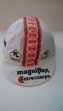 Vintage NOS Classic Original Rossin Magniflex Cotton Cycling Cap RARE