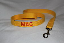 Just Pawfect 3 metre embroidered personalised Dog Lead