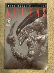 DARK HORSE PRESENTS ALIENS #1 MAY 1992 SQUARE BOUND NM NEAR MINT 9.4 9.6