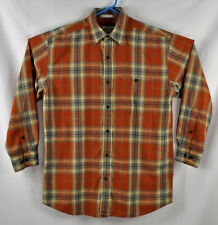 Orvis 100% Cotton  Shirt Size  Large
