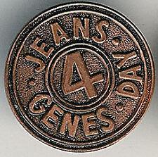 Jeans 4 genes día Pin Insignia Mariposa fijación im Evans Collection