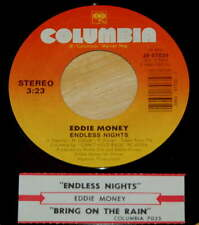 Eddie Money 45 Endless Nights / Bring On The Rain  EX