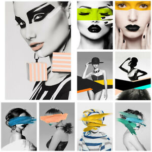 """24*36"""" Modern Lady Woman Art Poster Wall Prints Pictures Home Office Decor Gift"""