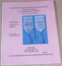 "Norma Flake ""Scissors Pocket - Celebration in Stitches"" Cross Stitch Pattern"