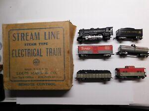 O Scale - MARX - Vintage #25000 New York Central #999 Steam Locomotive Train Set