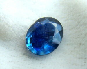 1.93 Ct Rare Blue Kyanite VVS Gemstone Natural Oval Untreated - Old Stock
