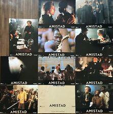 Jeu de 10 photos AMISTAD Lobby Cards / Steven Spielberg / Anthony Hopkins