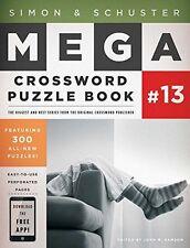 Simon and Schuster Mega Crossword Puzzle Book #13 (The Mega) by John M. Samson,