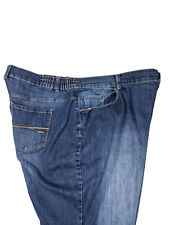 Catherines Womens Right Fit Curvy Jeans Faded Slub Blue Circle Plus Size 22W