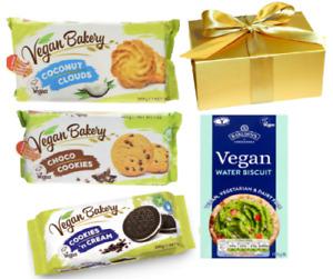 vegan Biscuits Varieties coconut cookies choco & water biscuits Halloween Treat!