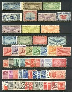 U.S. #C7//FA1 Mint NH Airmail Collection ($172)