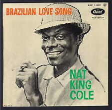 JAZZ NAT KING COLE 45T EP CAPITOL EAP 1.20371 BRAZILIAN LOVE SONG