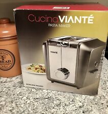 Cucina Viante Pasta Perfetto Electric Pasta Maker Cuc-25Pm New