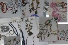 Jewelry Lot 45 Pieces Necklaces Bracelets Pierced Earrings