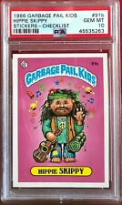 1986 GARBAGE PAIL KIDS PSA 10 #91B HIPPIE SKIPPY GEM MINT 10